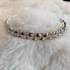 NWT ♠️ Kate Spade silver hinged bangle ♠️